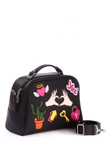 фото сумка Alba Soboni 171326 черный купить