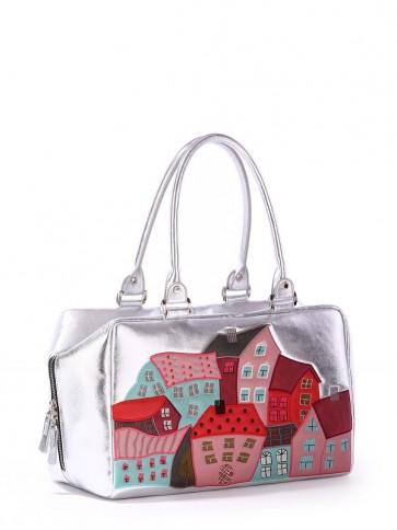 фото сумка Alba Soboni 171401 серебро купить