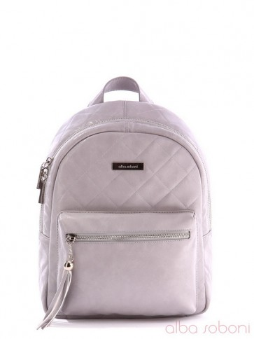 фото рюкзак Alba Soboni 171535 серый купить