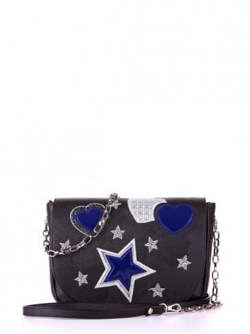 фото сумка Alba Soboni 172722 черный купить