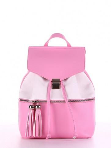 фото рюкзак Alba Soboni 180053 розовый-белый купить