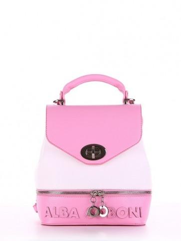 фото рюкзак Alba Soboni 180063 розовый-белый купить