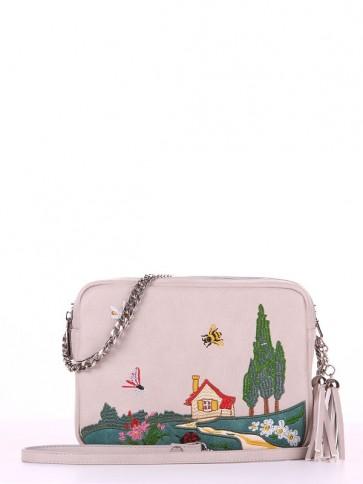 фото сумка Alba Soboni 180184 св. серый купить