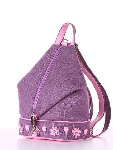 фото рюкзак Alba Soboni 180244 лиловая дымка-розовый купить