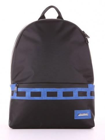 фото рюкзак Alba Soboni 181603 черно-синий купить