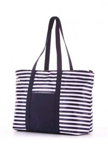фото сумка Alba Soboni 183801 синий/белая полоса купить