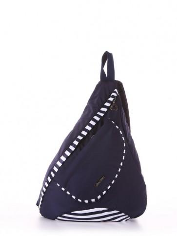 фото рюкзак Alba Soboni 183821 синий/белая полоса купить