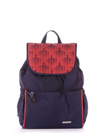 фото рюкзак Alba Soboni 183841 сине-красный купить