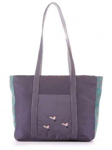 фото сумка Alba Soboni 183863 серо-зеленый купить