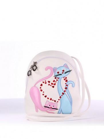 фото детский рюкзак Alba Soboni 1844 белый купить