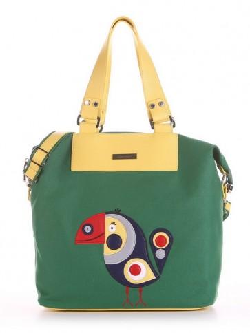 фото сумка Alba Soboni 190053 зеленый купить