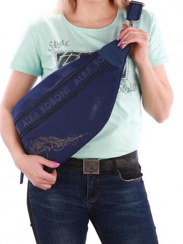 фото сумка Alba Soboni 190091 синий купить