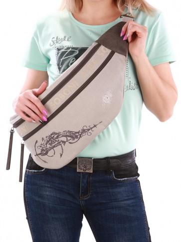 фото сумка Alba Soboni 190092 светло-серый купить