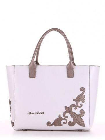фото сумка Alba Soboni 190115 белый купить