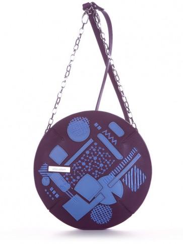 фото сумка Alba Soboni 190365 баклажан купить