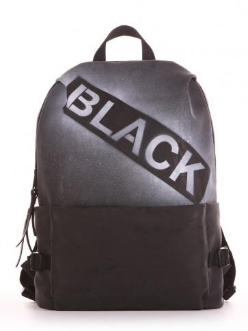 фото рюкзак Alba Soboni 191612 черный купить