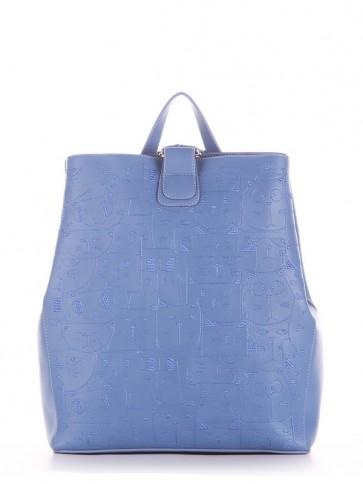фото рюкзак Alba Soboni 191722 голубая волна купить