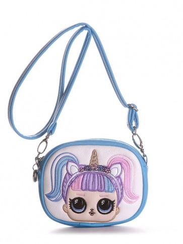 фото сумка Alba Soboni 1961 голубой купить