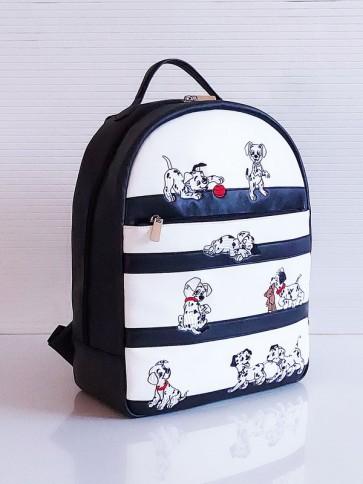 фото школьный рюкзак Alba Soboni 201351 черно-белый купить