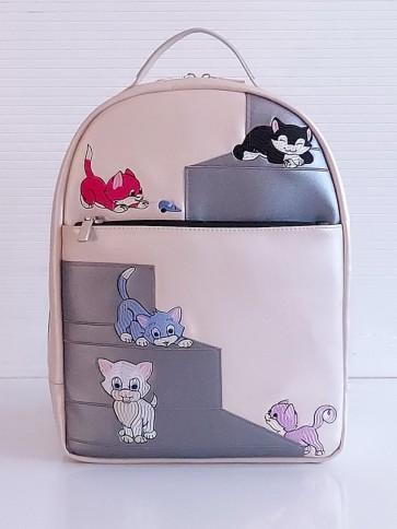 фото детский рюкзак Alba Soboni 201355 жемчужный купить