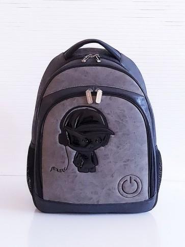 фото школьный рюкзак Alba Soboni 201712 черный купить