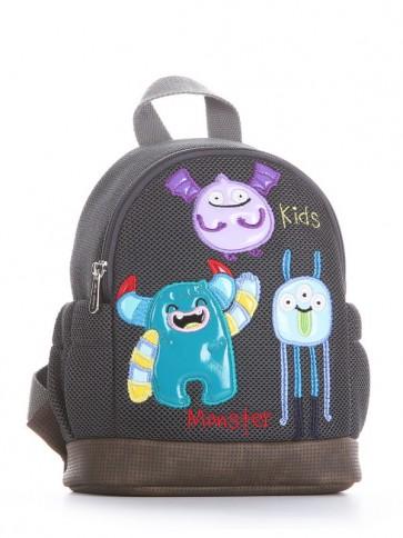 фото детский рюкзак Alba Soboni 2045 темно-серый купить