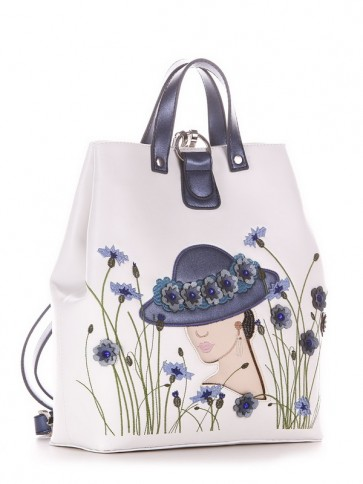 фото рюкзак Alba Soboni 210121 белый купить
