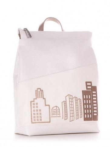 фото рюкзак Alba Soboni 210144 белый купить