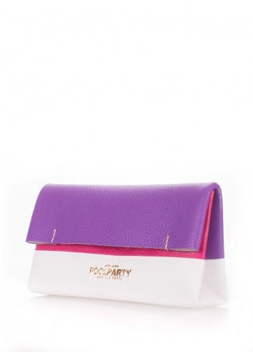 фото косметичка POOLPARTY 2nite-violet-white-pink купить