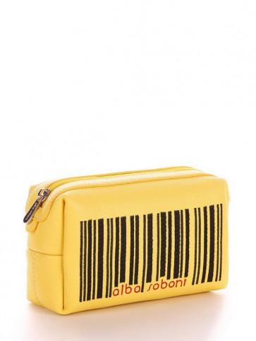фото косметичка Alba Soboni 621 желтый купить