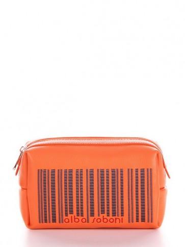фото косметичка Alba Soboni 622 оранжевый купить