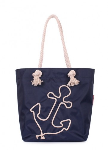 фото сумка POOLPARTY anchor-oxford-blue купить