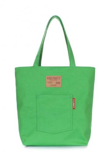 фото сумка POOLPARTY arizona-green купить
