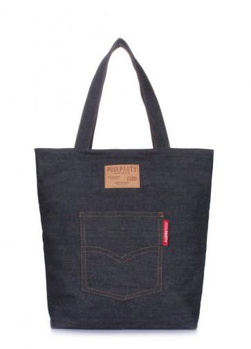 фото сумка POOLPARTY arizona-denim купить