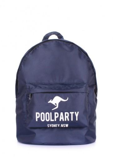 фото рюкзак POOLPARTY backpack-oxford-blue купить