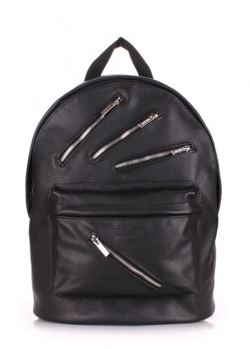 фото рюкзак POOLPARTY backpack-rockstar-black купить
