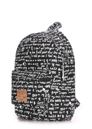 фото рюкзак POOLPARTY backpack-signature-black купить