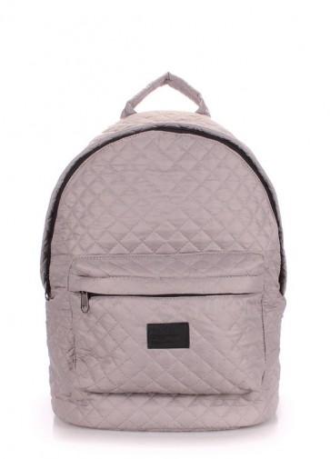 фото рюкзак POOLPARTY backpack-theone-grey купить