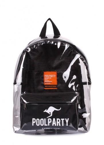 фото рюкзак POOLPARTY bckpck-plastic-black купить