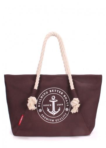 фото сумка POOLPARTY breeze-oxford-brown купить