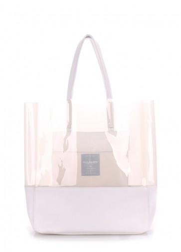 фото сумка POOLPARTY city-carrie-white купить