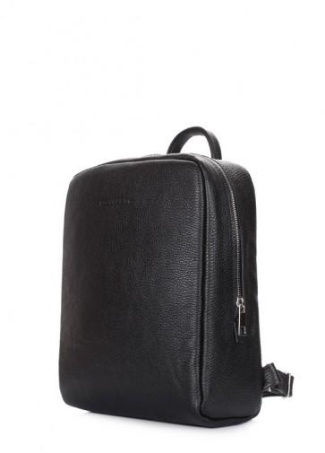 фото рюкзак POOLPARTY cult-leather-black купить