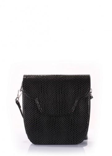 фото сумка POOLPARTY daisy-snake-black купить