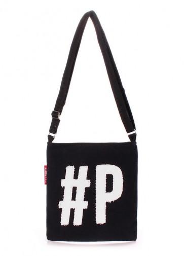 фото сумка POOLPARTY detroit-black-white купить