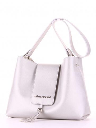 фото сумка Alba Soboni E18032 серебро купить