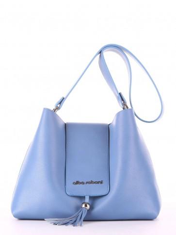 фото сумка Alba Soboni E18034 голубая волна купить