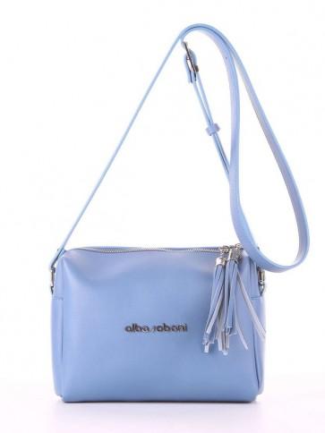 фото сумка Alba Soboni E18044 голубая волна купить