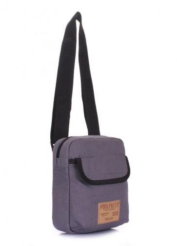 фото сумка POOLPARTY extreme-grey купить