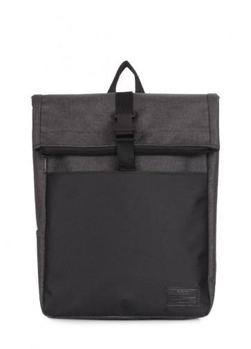 фото рюкзак POOLPARTY finder-graphite купить
