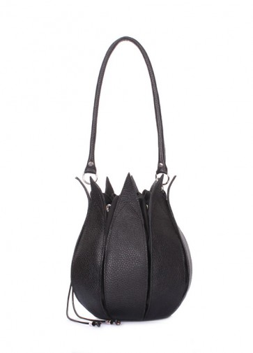 фото сумка POOLPARTY flower-black купить